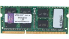 KINGSTON 8GB, Notebook, DDR III, 1600MHz Memory 1.35 V