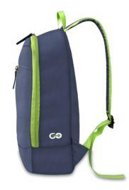 MACK MCC-3001 Easygo DayPack Lacivert-Yeşil