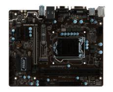 MSI B250M PRO-VD DDR4 VGA DVI GLAN M2 SATA 6GB-S. USB3.1 mATX