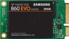 SAMSUNG 500GB 860 Evo Sata3 550-520 Flash SSD
