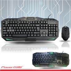 POWERGATE KM-A6 M.Medya Klavye + Mouse USB
