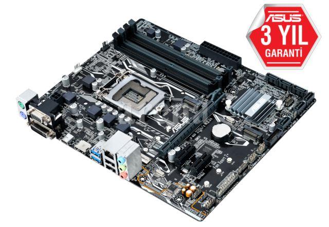 ASUS PRIME-B250M-K Socket 1151 DDR4 max32GB DVI-D/RGB ports Micro ATX