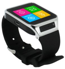 Quadro S71 Smart Watch 1.54- 400Mah Siyah Android & IOS Akıllı Saat