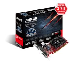 ASUS AMD, Radeon R7 240 GPU, 2 GB, DDR3, 128 Bit Bellek, PCI Express 3.0