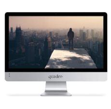 QUADRO RAPID HM1120-74410 19.5- LCD Ci5 7400 3.0Ghz 4gb 1 TB OB VGA FDOS