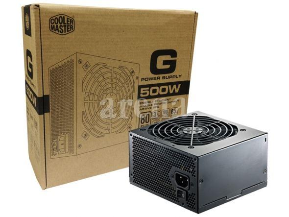 COOLERMASTER G Serisi 500W 80+ Bronze Aktif PFC 120mm Fanlı PSU
