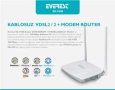 EVEREST SG-V300  64MB SDRAM 11N VDSL2-ADSL2+ Modem+Router