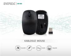 EVEREST SM-506 Usb Siyah Kablosuz Mouse