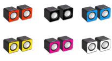 SNOPY SN-66 2.0 Kırmızı USB Speaker