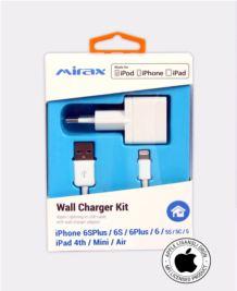 MIRAX iPhone  6-6Plus-5-5S-5C duvar şarj kiti Apple Lisanslı Ürün