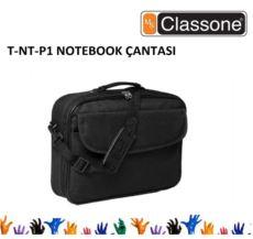 CLASSONE 15,4--15,6- Uyumlu Notebook Çantası Siyah Renk