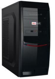 REDROCK 250W Powerlı Penceresiz ATX Siyah Kasa
