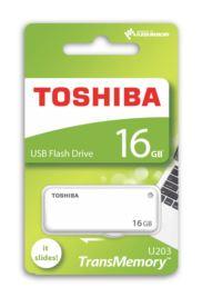 TOSHIBA 16GB USB 2.0 BEYAZ (YAMABIKO)
