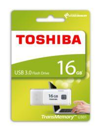 TOSHIBA 16GB USB 3.0 HAYABUSA BEYAZ