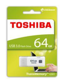 TOSHIBA 64GB USB 3.0 HAYABUSA BEYAZ