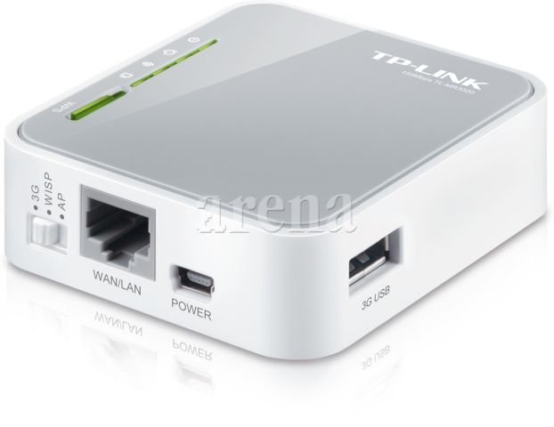 TP-LINK Kablosuz 150Mbps Taşınabilir 3G Router