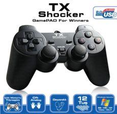 TX Pc Uyumlu Shocker Dijital - Analog Gamepad