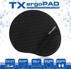 TX Jel Bilek Destekli Mousepad - 250x220x5mm TXACMPAD01