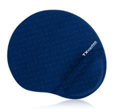 TX ErgoPad Plus BilekJel Destekli Lacivert Mousepad (250x220x5mm) TXACMPAD01DB