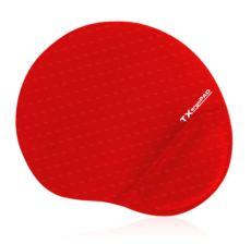 TX ErgoPad Plus Bilek Jel Destekli Kırmızı Mousepad (250x220x5mm) TXACMPAD01RD