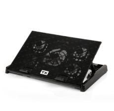 TX 5 x Fanlı  11-17-inç destekli 6 kad.yükseklik, 2xUSB notebook soğutucu