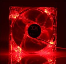 TX 12cm Kırmızı Sessiz Kasa Fan TXCCF12RD
