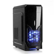 TX K8S 500W 1xUSB 3.0, 2xUSB 2.0, 1x12cm Fanlı Mid-Tower Siyah Oyuncu Kasası TXCHK8S500
