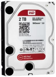 WD 2TB 3.5- INTELLIPOWER 64MB SATA RED NAS HDD