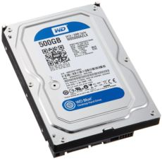 WD 500GB 3.5-- 7200RPM SATA3 32MB