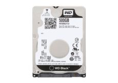 WD 500GB 2.5- 7200RPM 32MB Sata3 Black Notebook Gaming Dahili HDD