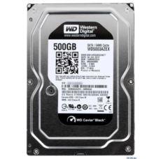 WD Black 500GB 7200RPM Sata 3.0 64Mb 3.5- Sabit Disk