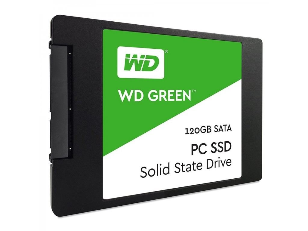 WESTERN DIGITAL GREEN 120GB Green Sata3 SSD 545/465 Flash SSD