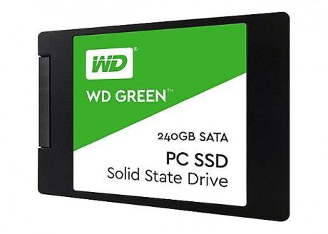 WESTERN DIGITAL GREEN 240GB Green Sata3 545/465 Flash SSD