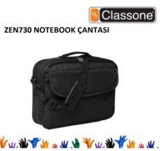 CLASSONE 15,6--15,4- Uyumlu Sıvıya Dayanıklı Notebook Çantası Siyah Renk